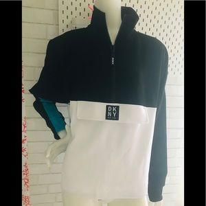 NWT DKNY colour block sweatshirt.